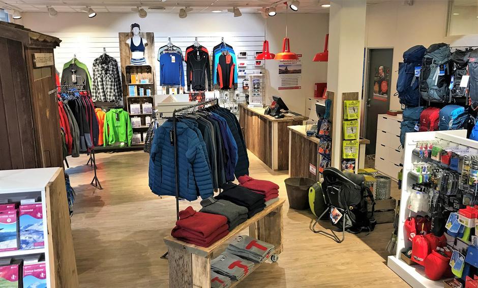 DNT Sørs butikk, turinformasjon og medlemsservice i Kristiansand sentrum