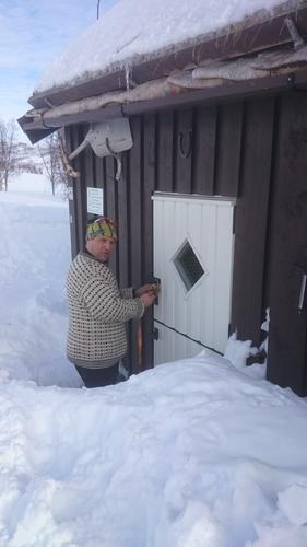 Krukki og Saltfjellstua låses nå med DNT-nøkkel