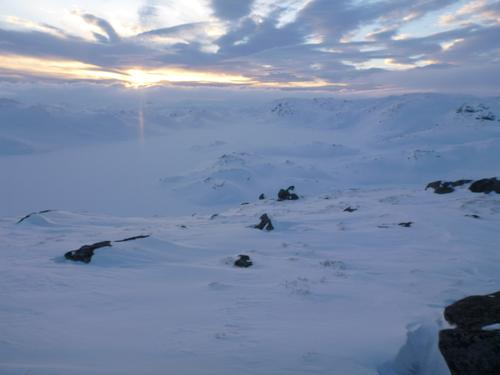 SETESDALSHEIENE UKE 11- 12, SNØ, vind, sol og vekslende temperatur!