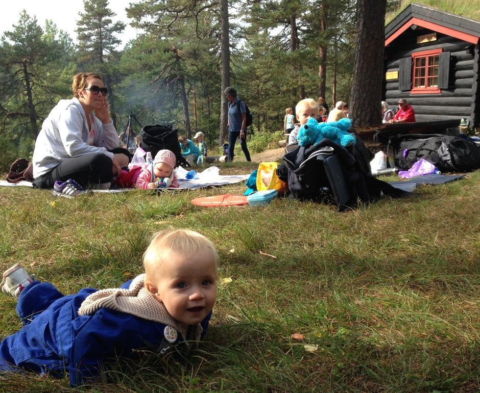 Kom deg ut dagen ved Småvannsbu i 2014.