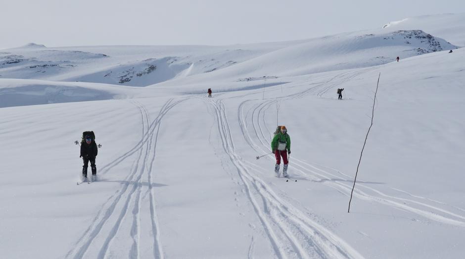 Flott skiføre i Tafjordfjella