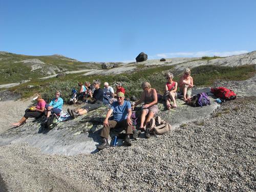 27. august hadde Seniorgruppa fottur Bessheim – Bessvatnet – Russvatnet