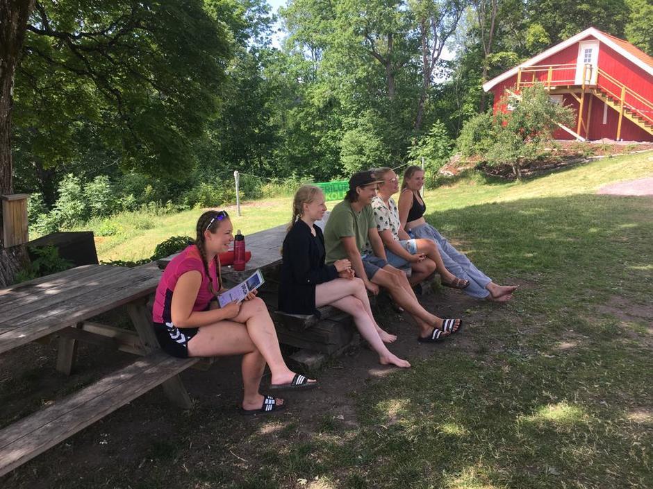 Turlederne: Maren, Benedicte,Mats,Milla og Guro