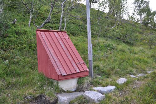 Tørt i fjellet - ikke vann på Hovstøyl