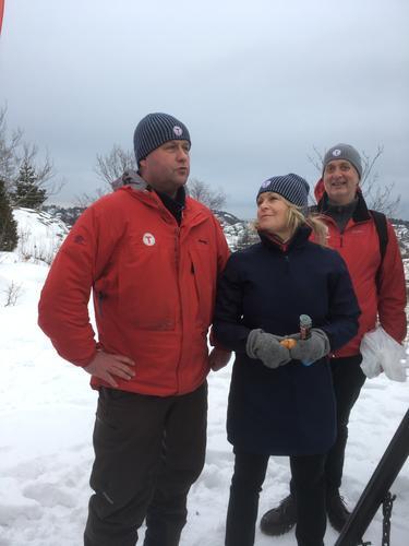 AAT fikk besøk av Eldre- og folkehelseminister Åse Michaelsen