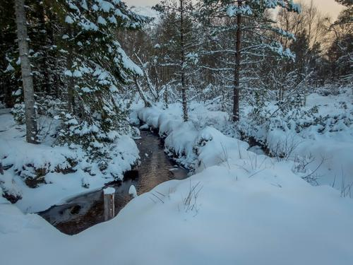Snø på Frei