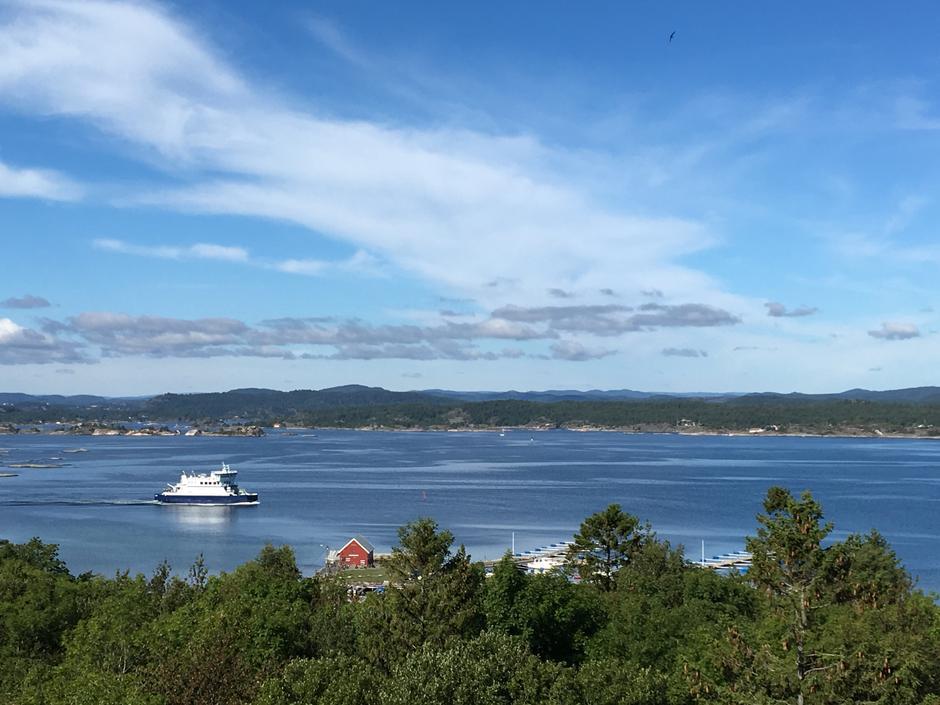 Utsikt fra Gamletårnet!
