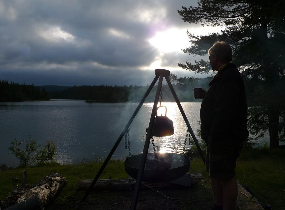 Utsikt over Råbjørn