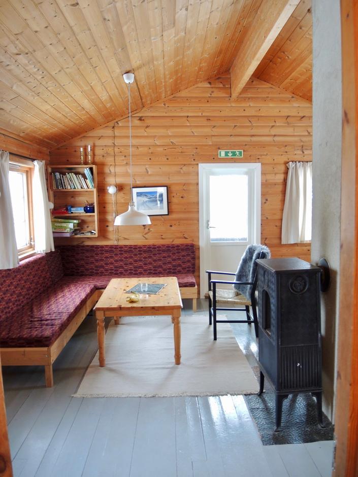 Enda en sofakrok ved Ådneram turisthytte.
