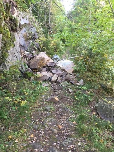 Steinskred i Delingsdalen, Trollsvann