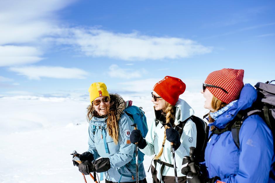 GOD STEMNING: Tre dager på Hardangervidda gjør godt både i kropp og sjel.