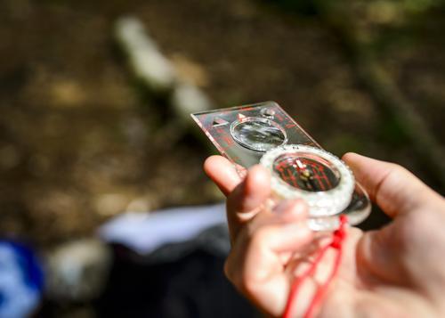 Ferksingkurs, kompass
