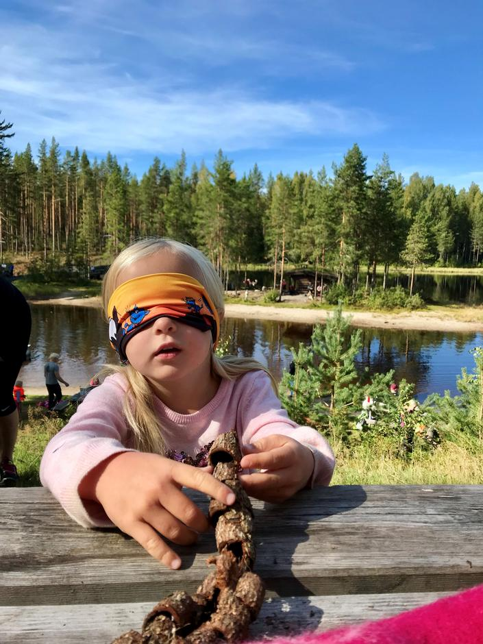 Kims lek på Stavåsdammen i Elverum med DNT Finnskogen og omegn