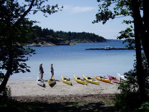 Kajakk i Oslofjorden