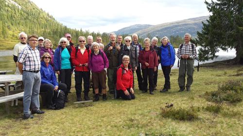 Seniortur til Gavlesjå på Lifjell