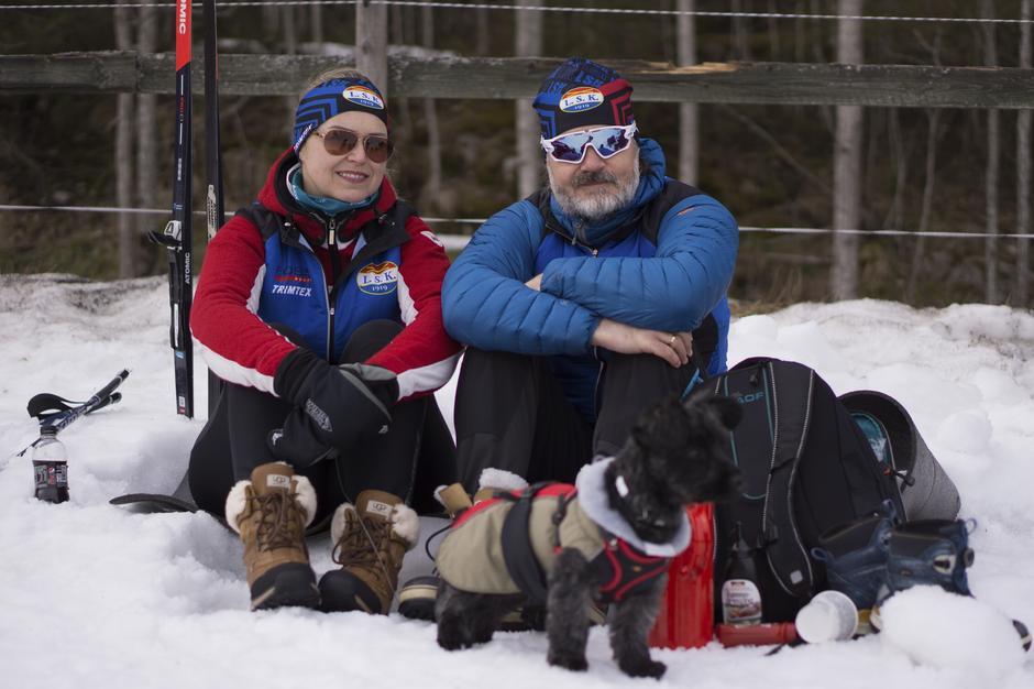 Skifest og familiedag på Losby.