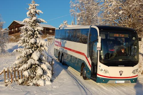 Norway bussekspress tar deg til fjells!