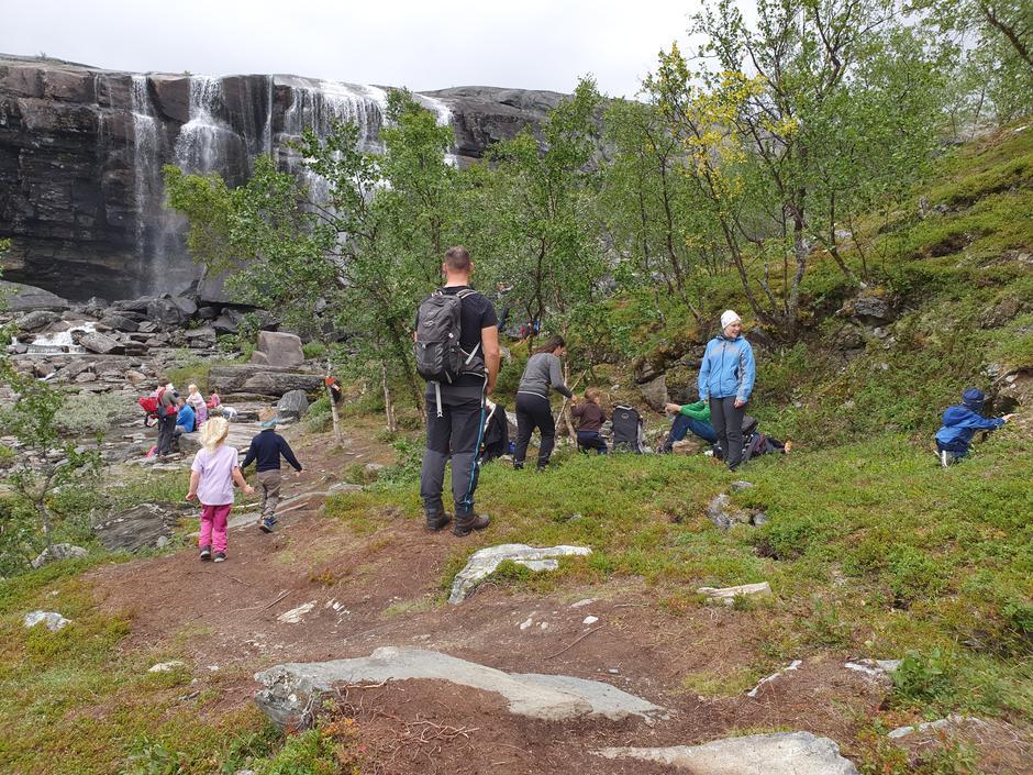 Barnas turlag Alta ved Orvosfossen