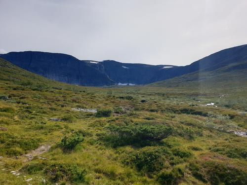 På veg innover Jardalen
