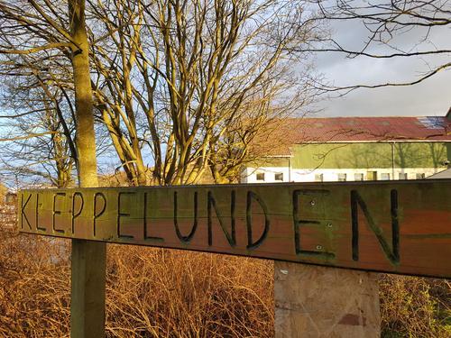 Skilt Kleppelunden, Klepp kommune