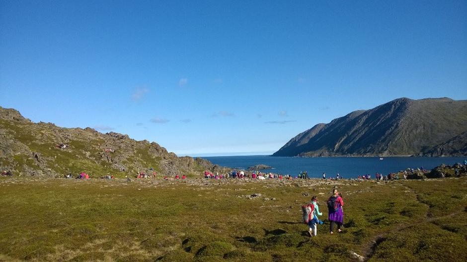 Skoletur til Falkebergbukta