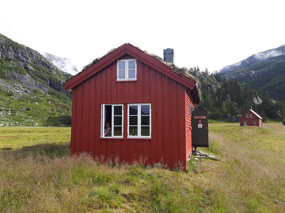 Flott og sommerlig på Kvanndalen.