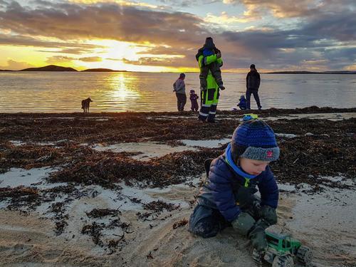 Solnedgangstur - kveldsmattur til Skålvika