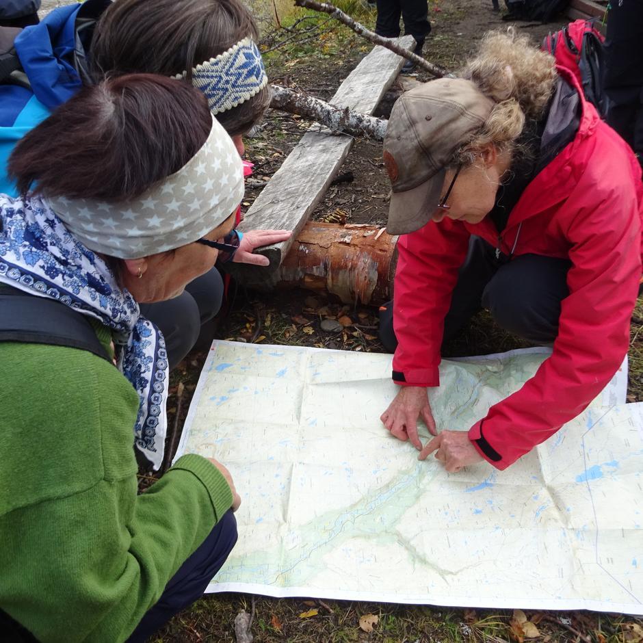 Fra Nord-Troms Turlag sin første fellestur Saraelv til Käyräniva.