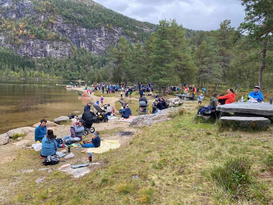 Omlag 200 vaksne og barn på BT Førde sitt arrangement på søndag
