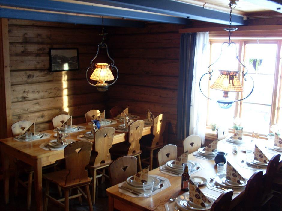 Spisesalen på Krækkja