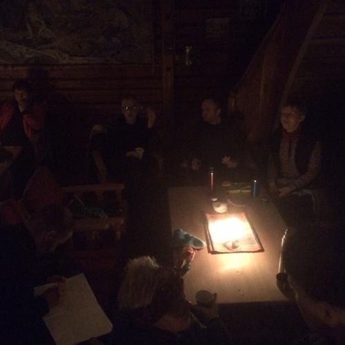 Måneskinnstur på Vardalsåsen, 24. januar