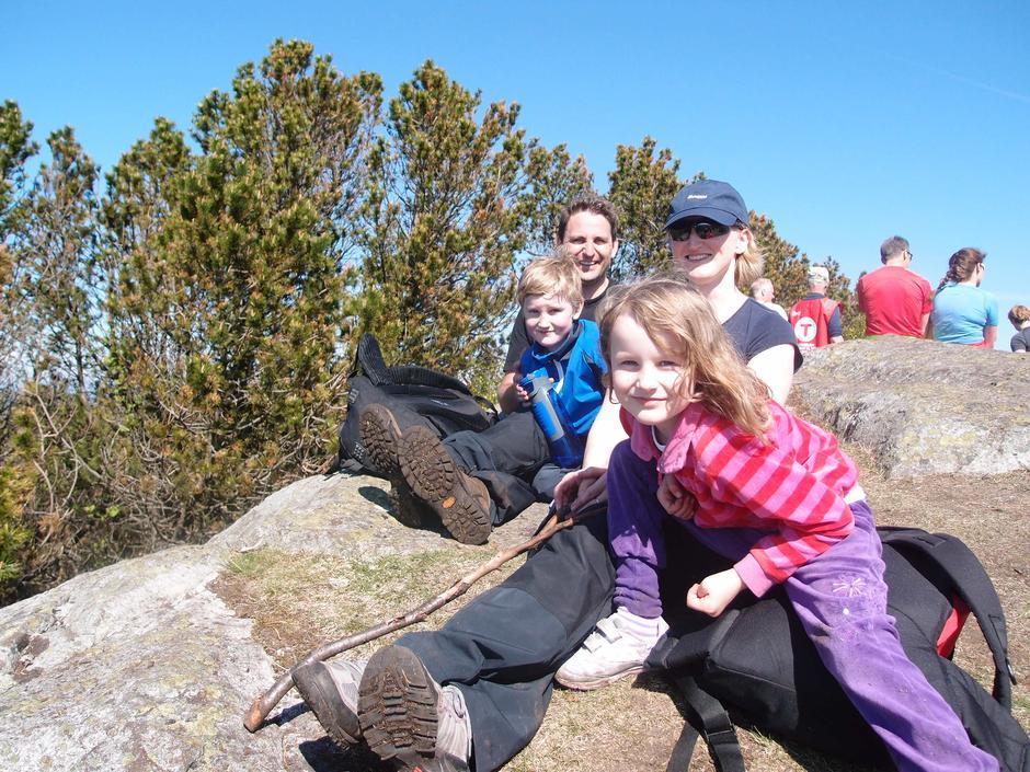 Barnas Turlag har mange lettgåtte turer som passer for små barneføtter.