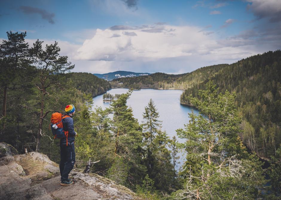 Østmarka i Oslo er et område som er lett tilgjengelig for mange.