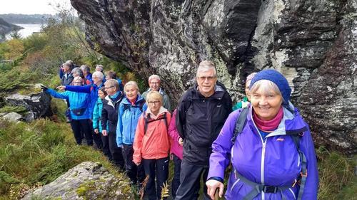 Onsdagsgruppa sin tur til Lokøyna    21. oktober.