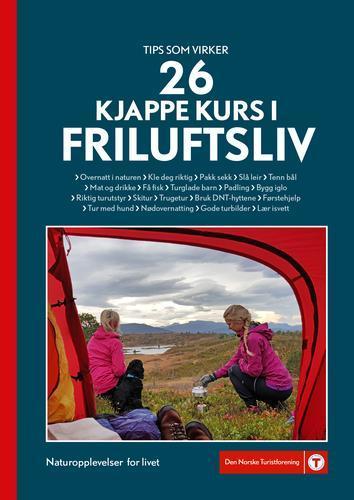 Bokomslag «26 kjappe kurs i friluftsliv».