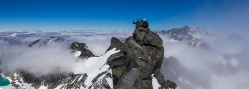 25. juli var det fjellsporttur til Store Austanbotntinden