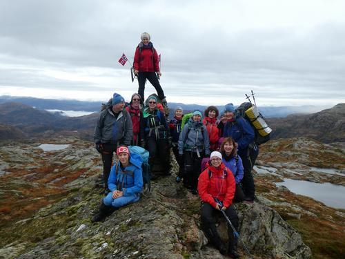 Til topps i Masfjordfjella