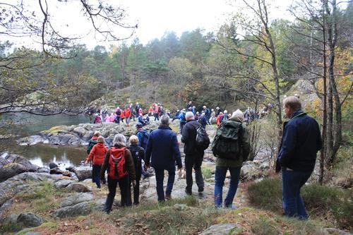 Populær tur på dagtid fra Kalvøysund i Flosta