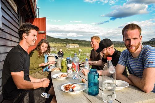 Dnt ung over Hardangervidda