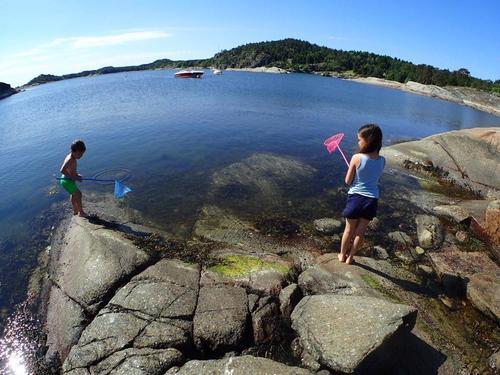 Sommerferie med barn