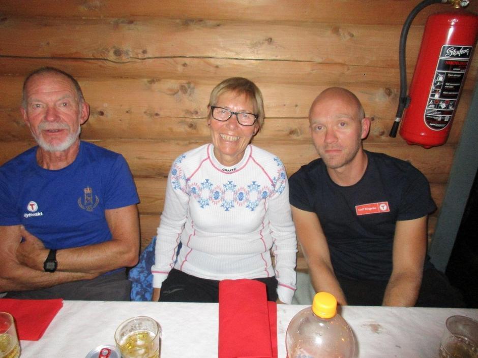 Axel, Brit og Tom-Erik.