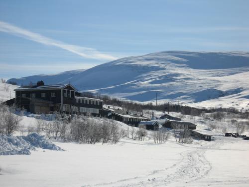 Vinter ved Gjendesheim Foto: DNT Oslo