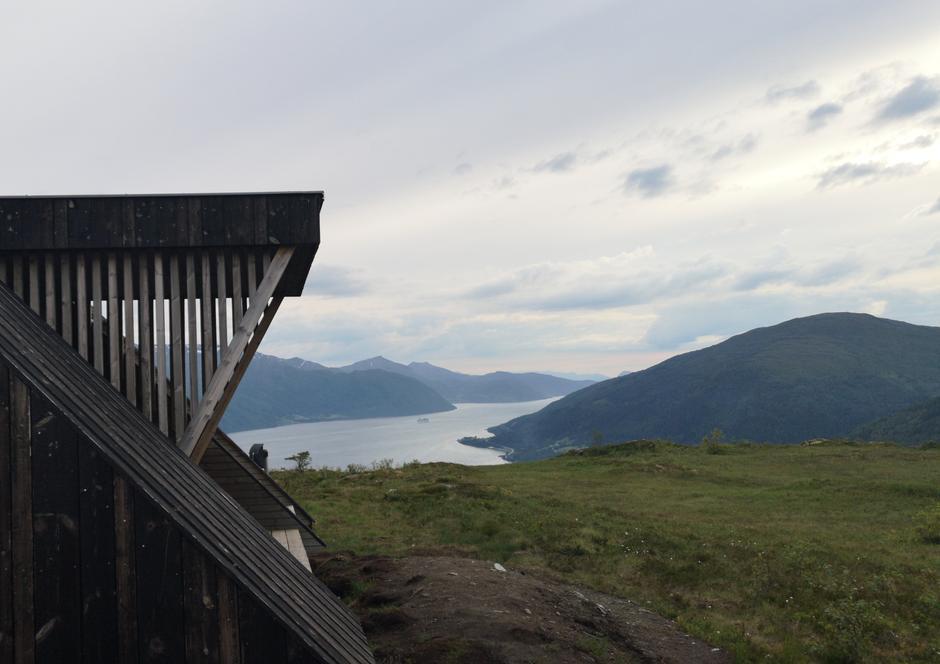 Utsikt utover Nordfjorden.
