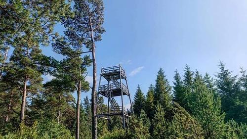 Kjerrgardstårnet, Askøy, juli 2019