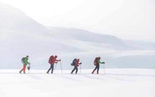 Tre vintertur-perler på kvisteløyper fra Hunnedalen