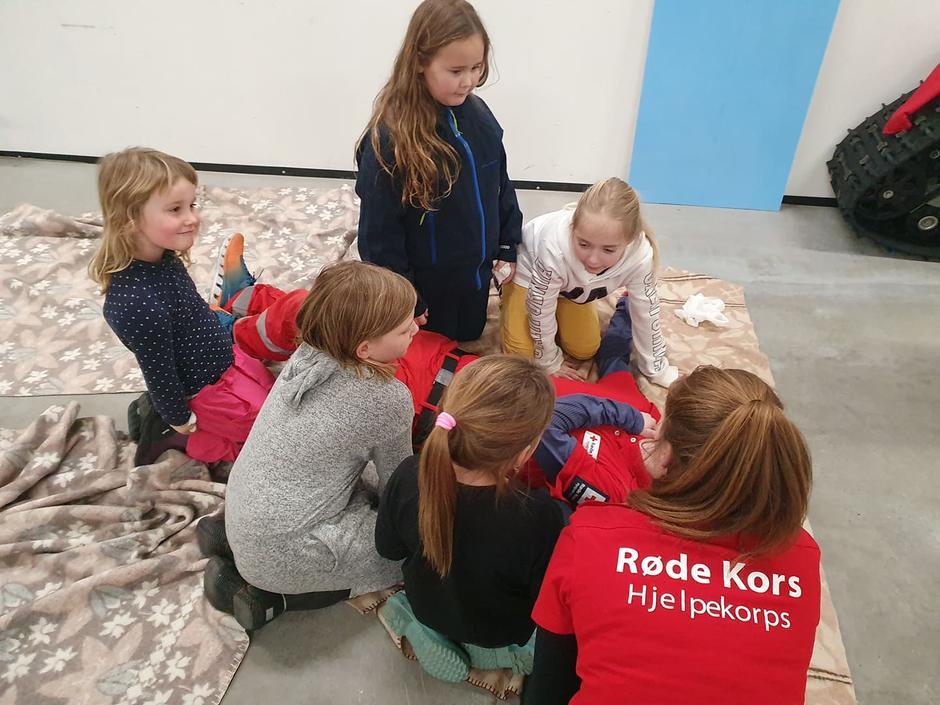 Regine lærere barne stabilt sideleie