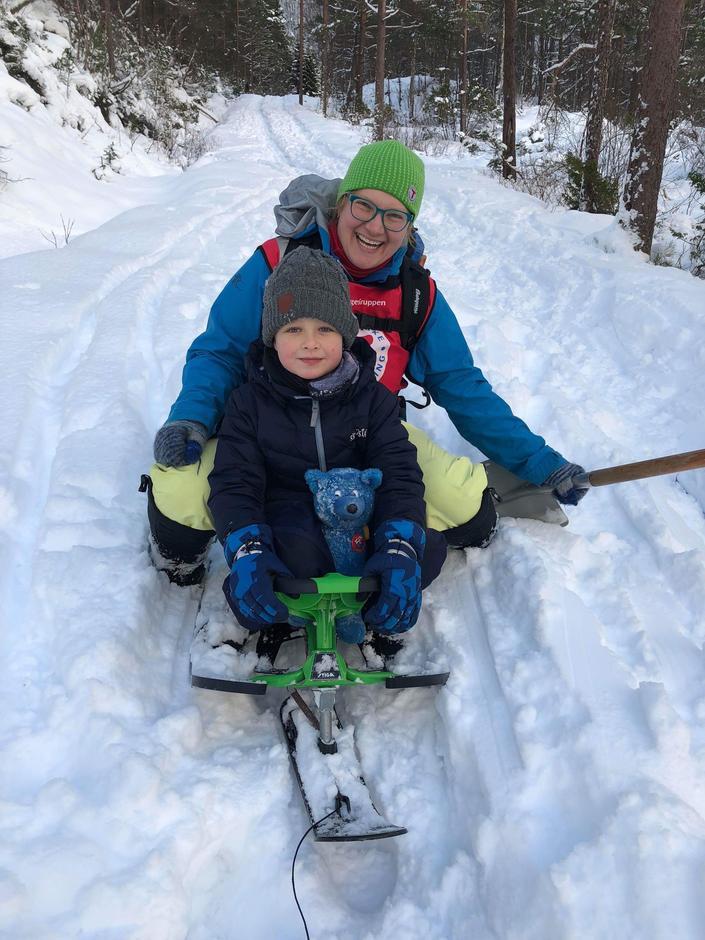 BT Hyllestad fann snø i Ørnadalen.