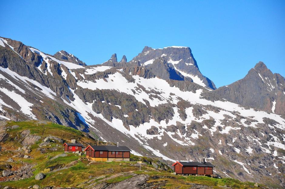 Snytindhytta kan bli stemt fram som hele Norges fineste hytte.