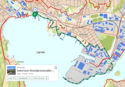 Ukas tur (33) - Indre havn-Strandpromenaden-Revstien