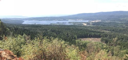 utsikt fra Barlindåsen